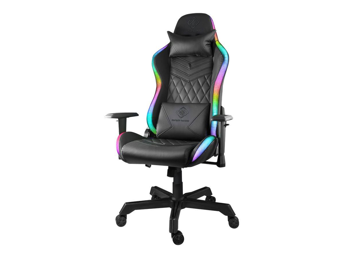DELTACO GAMING gamingstol med RGB belysning (vare no.9206